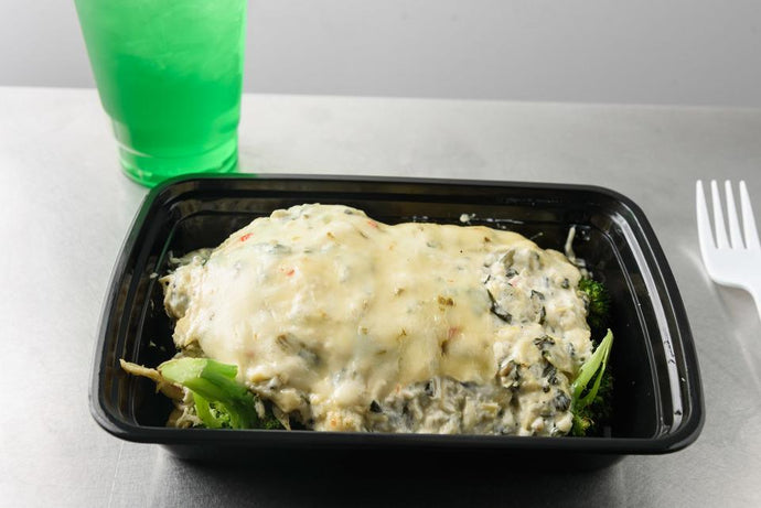 Spinach Artichoke Broccoli Chicken Casserole