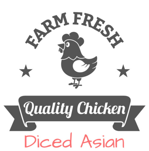 Diced Asian Chicken