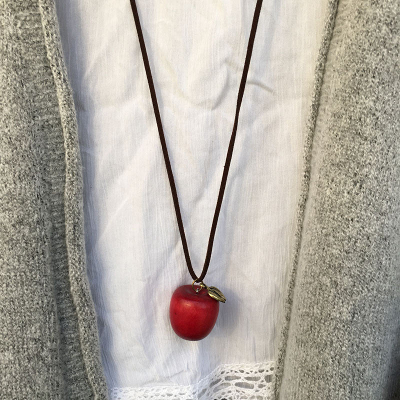 Trendy Apple Pendant