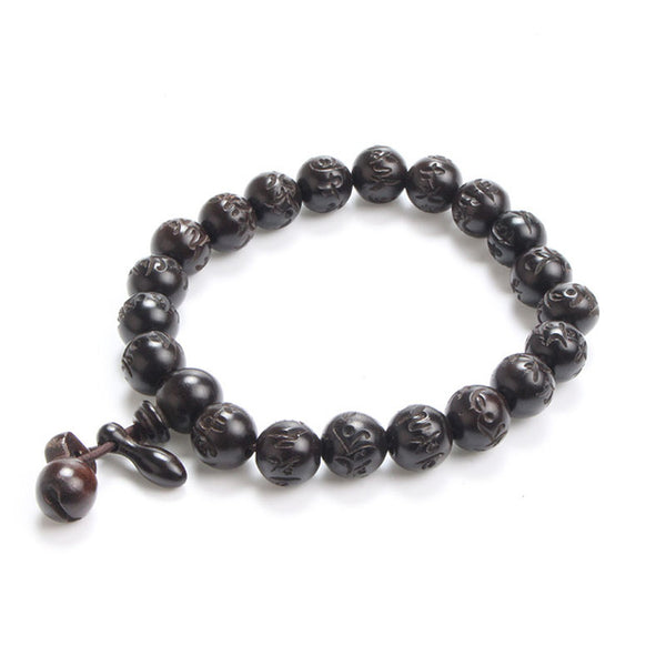 Lightning Wood  Prayer Beads Bracelets