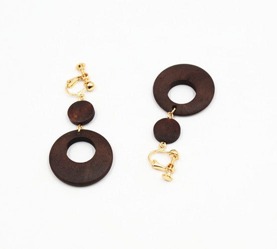 Stylish Wood Earrings