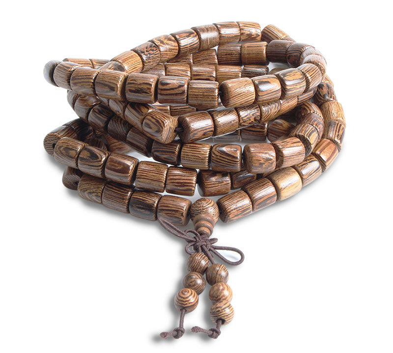 Cylinder Wooden Necklace