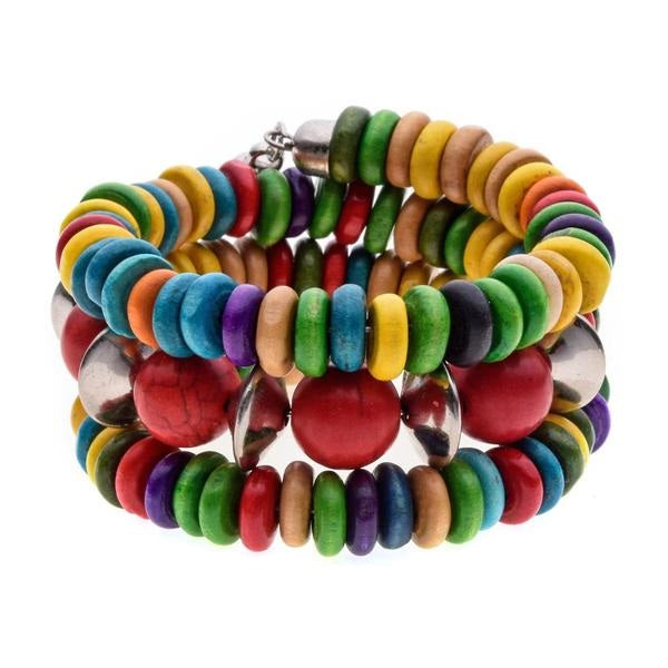 Colorful Bohemian Wrap Bracelet