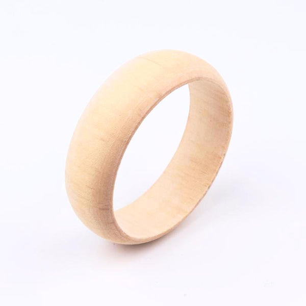 Simple and Elegant Wood Bracelet