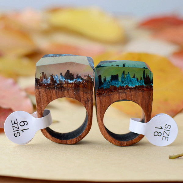 Resin Wood Ring