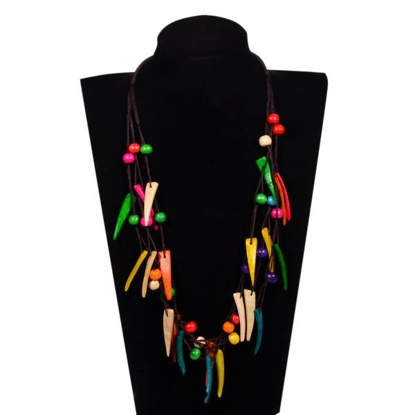 Bohemian Style Coconut Shell Beads Necklace