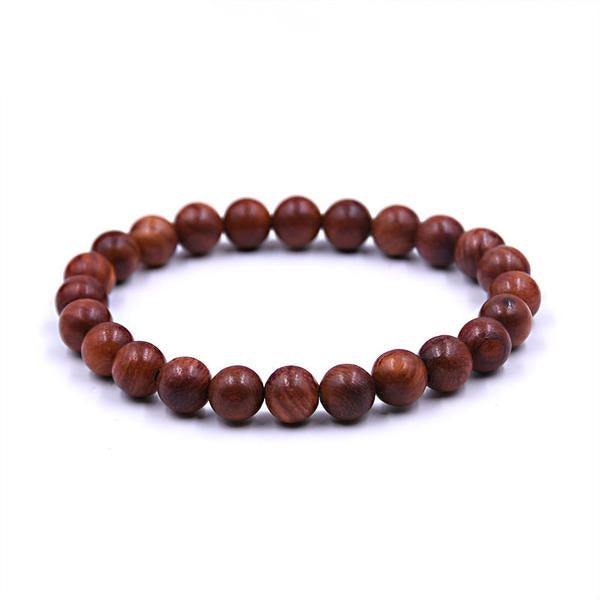 Natural Wood Prayer Bracelet