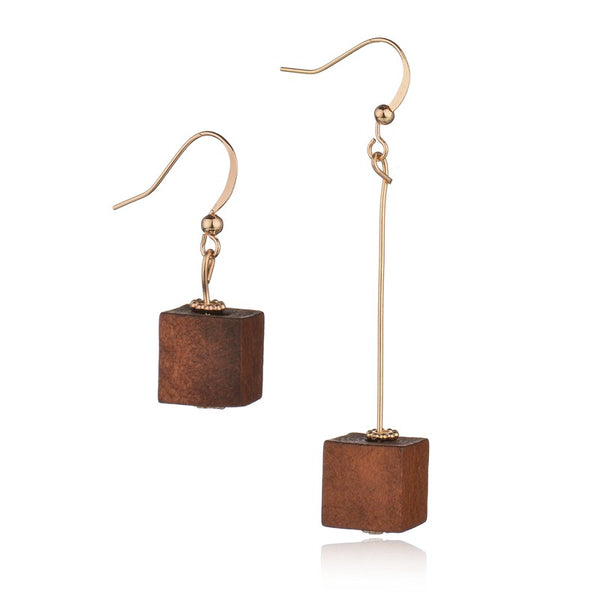Tassel Wood Earrings