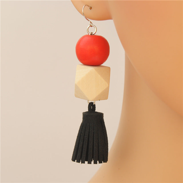 Bohemian Style Tassel Earrings