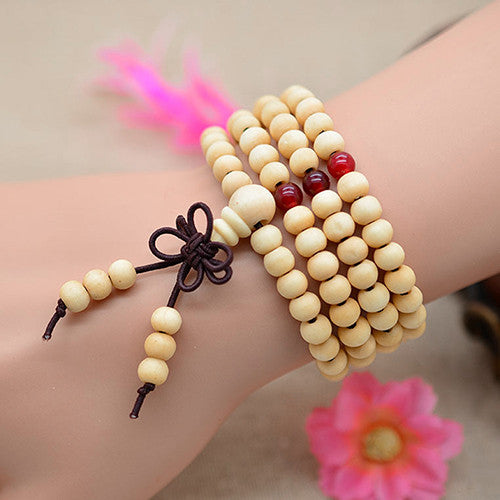 Infinity Multilayer Beaded Charm Bracelet