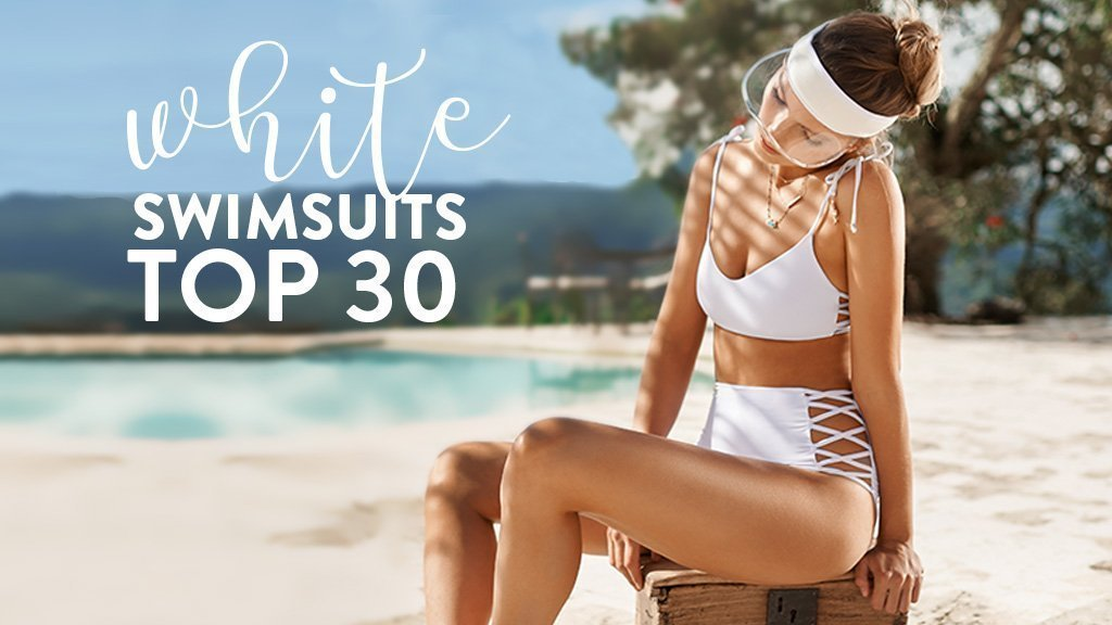The top 30 White Swimsuits for the 2019 Swim Season