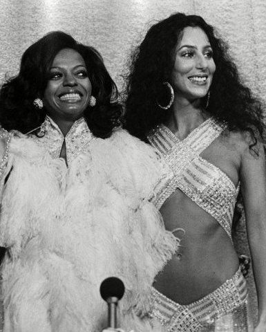 Wrap Top Diana Ross & Cher