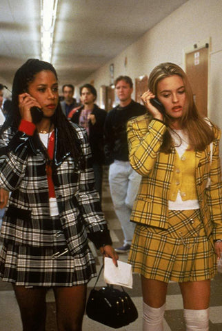 Color block trend Clueless Movie