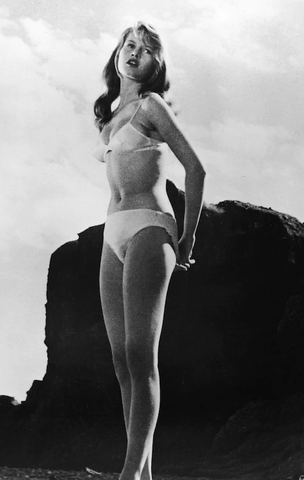 Full coverage bottom Brigitte Bardot The Girl in the Bikini