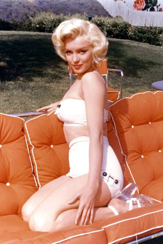 High waisted bikinis Marilyn Monroe
