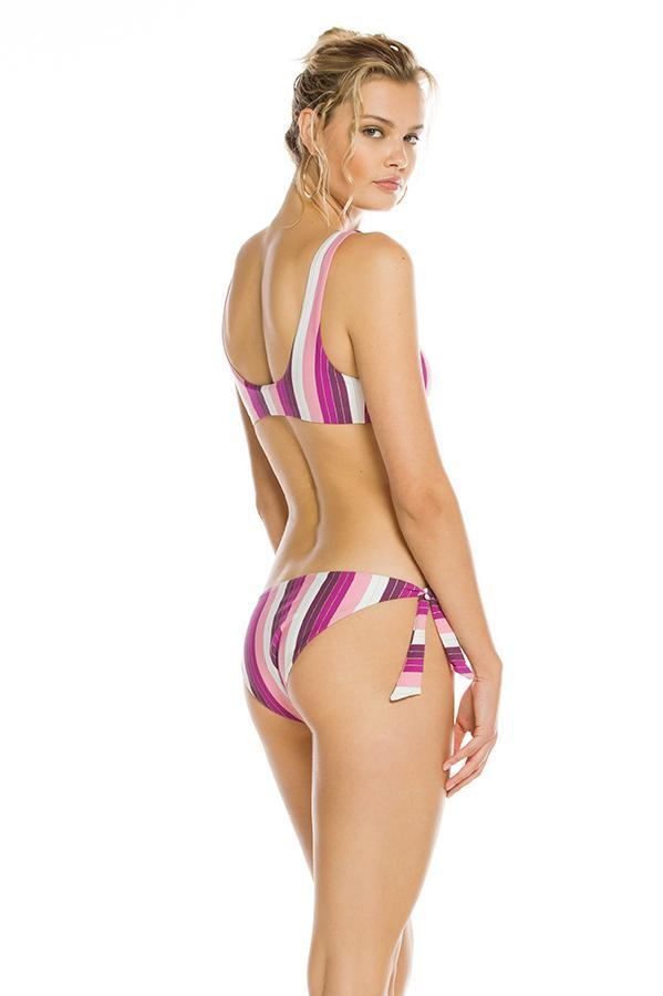 AGUA BENDITA Bendito Wisteria Stripes Mila Bottom