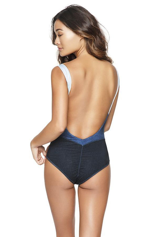 AGUA BENDITA Mezclilla One Piece-OrchidBoutique
