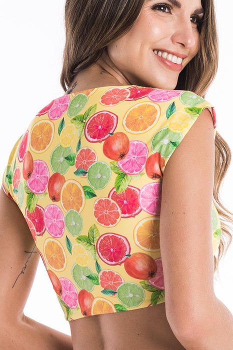 ESTIVO Citrussplash Crop Top-OrchidBoutique