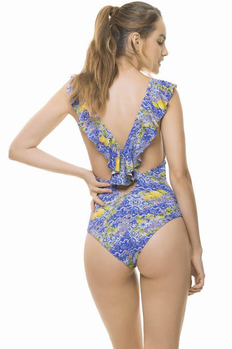 ESTIVO Tilestories Ruffles One piece