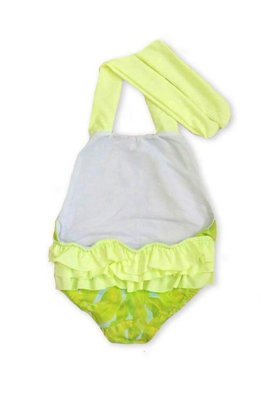 KIDS Maylana Layla Lime One Piece-OrchidBoutique
