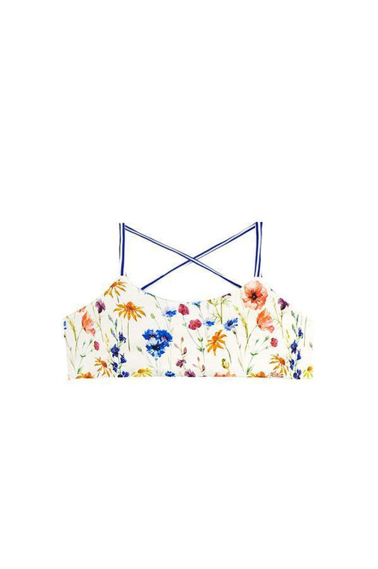 Maylana bralette floral kids swimsuits