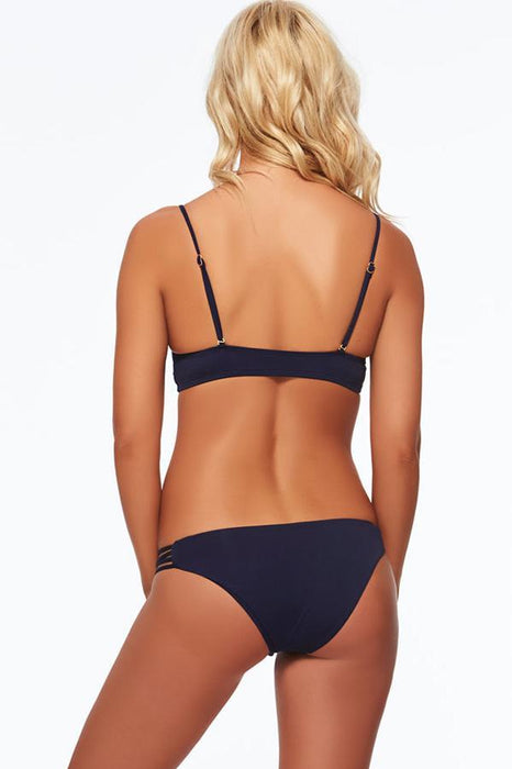 L*SPACE Lowdown Midnight Blue Bottom-OrchidBoutique