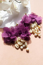 M.A.G. Seychelles Plum Earrings