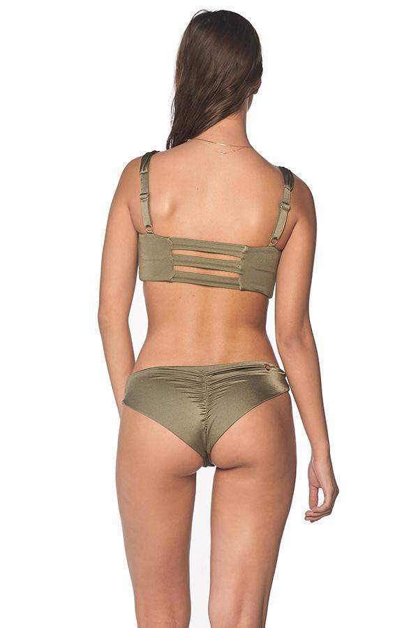 MALAI African Dream Indian Ruched Bottom