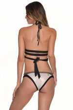 MALAI Army Waistband Bottom - Size Medium-OrchidBoutique