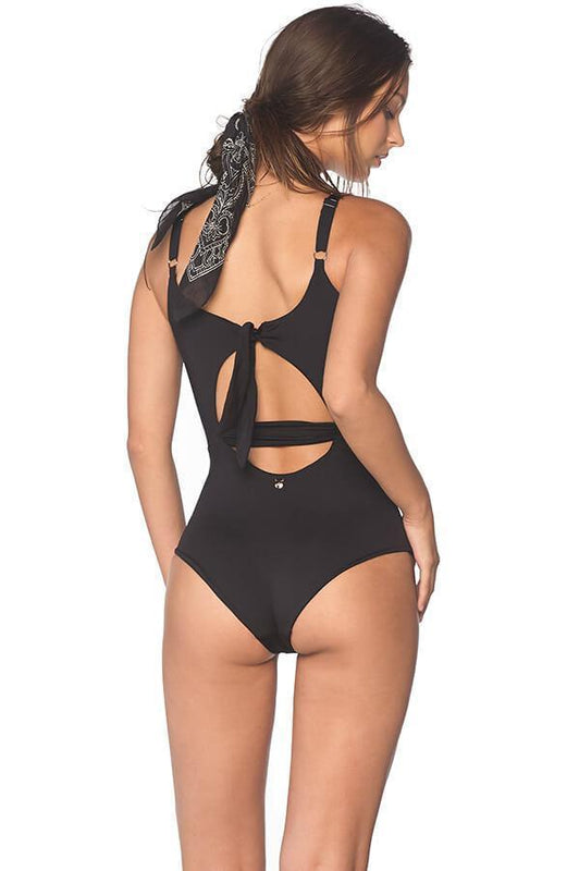 MALAI Black Cut Out One Piece