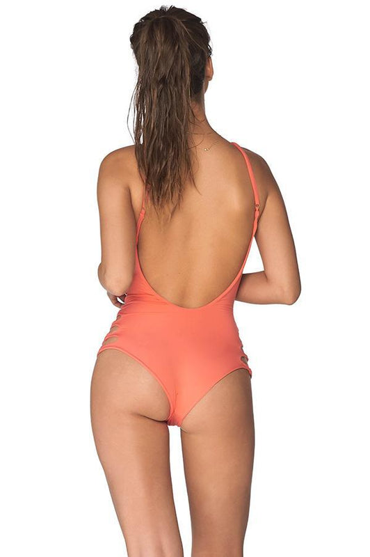 MALAI Blossom Lilas Tangarine Sun Crater One Piece