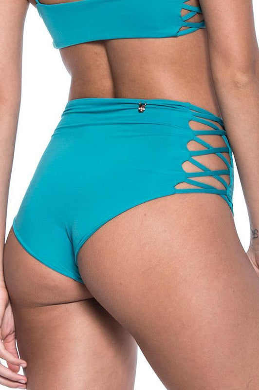 MALAI Cape Green Marine High Waist Bottom
