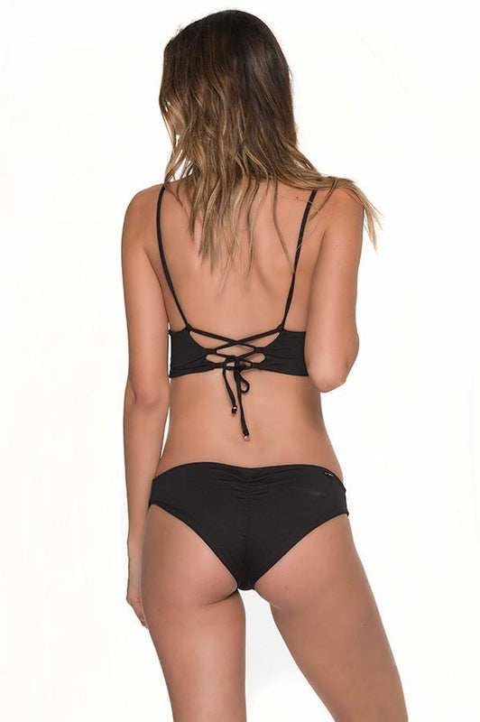 MALAI Colibri Ruched Bottom-OrchidBoutique