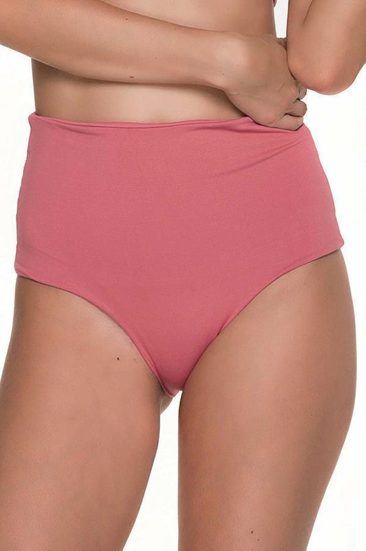 MALAI Fishbone Rose High Waist Bottom
