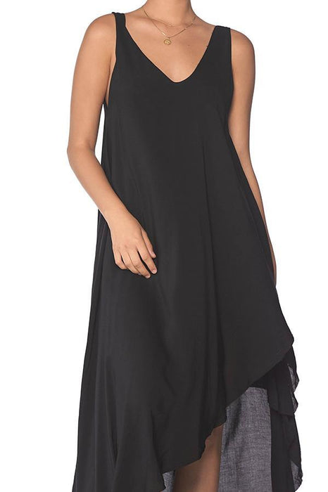 MALAI Marble Spirit Black Moonlit Dress