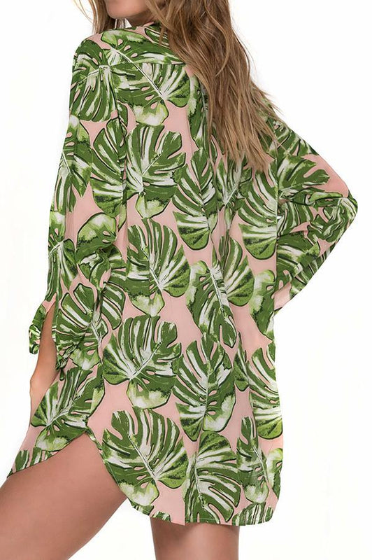 MALAI Monstera Beloved Cover Up