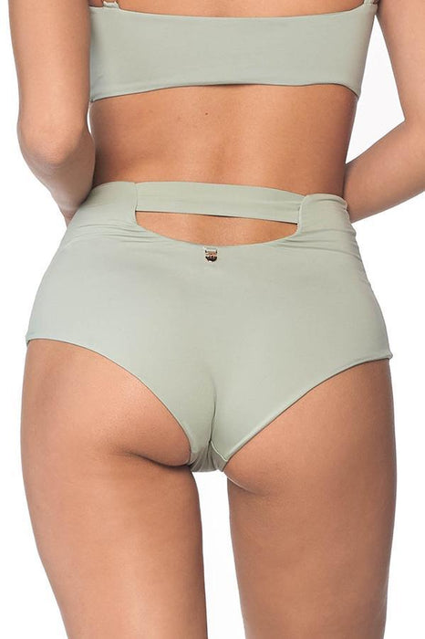 MALAI Roseda Green High Waist Bottom