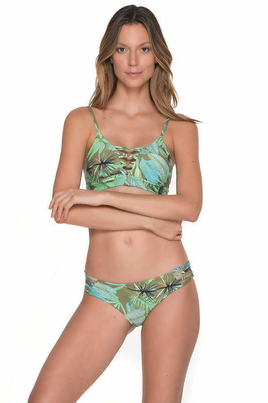 MALAI Tropical Eden String Side Bottom - Size Small-OrchidBoutique