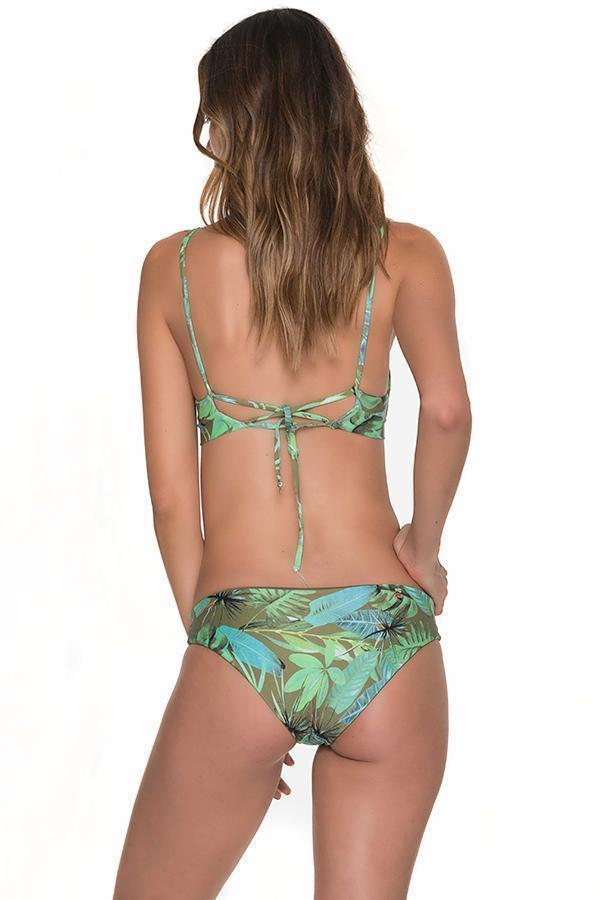 MALAI Tropical Eden String Side Bottom - Size Small