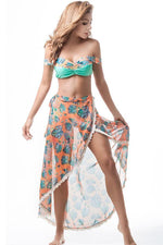 Beach pareo by mar de rosas swimwear