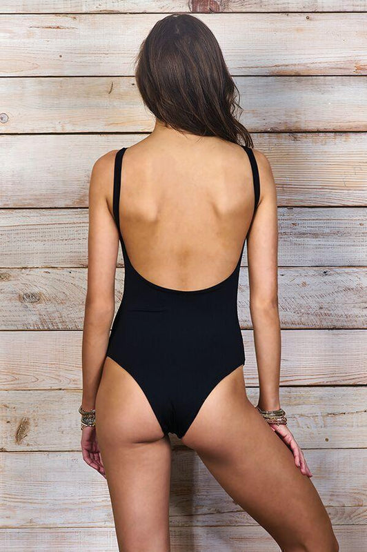 MAYLANA Ace Black One Piece-OrchidBoutique