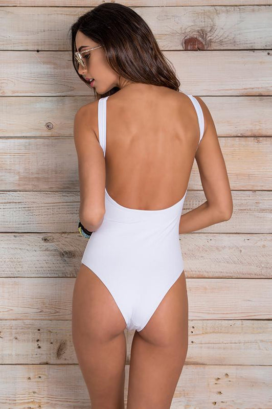 MAYLANA Ace White One Piece