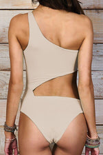 MAYLANA Alden Beige One Piece-OrchidBoutique