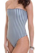MAYLANA Alyssa Autumn Stripes One Piece