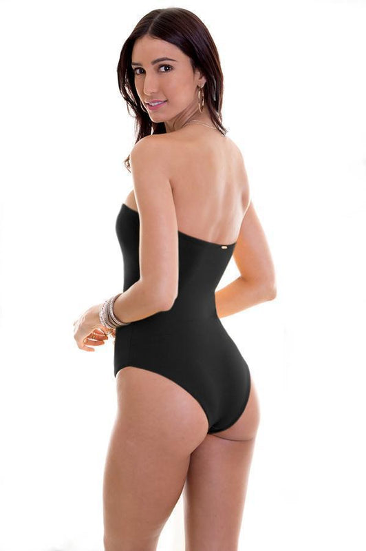 MAYLANA Alyssa Black One Piece