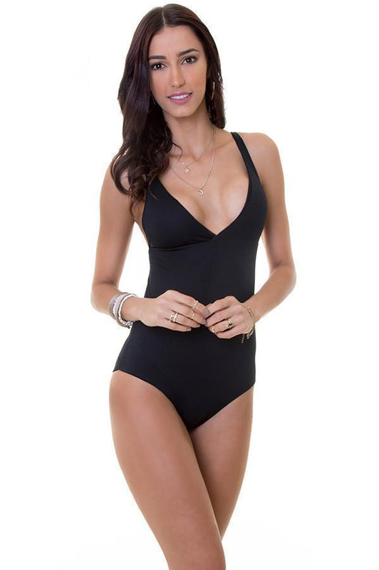 MAYLANA Collins Black One Piece - Size Medium-OrchidBoutique