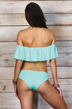 MAYLANA Cora Aqua Top - Size Small-OrchidBoutique