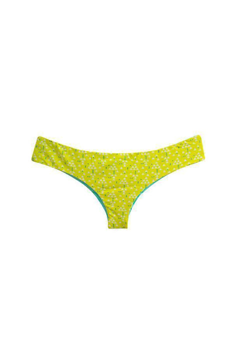 MAYLANA Daisy Yellow Triangles Bottom-OrchidBoutique
