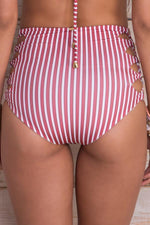 MAYLANA Dayja Red Stripes Bottom - Size Small-OrchidBoutique