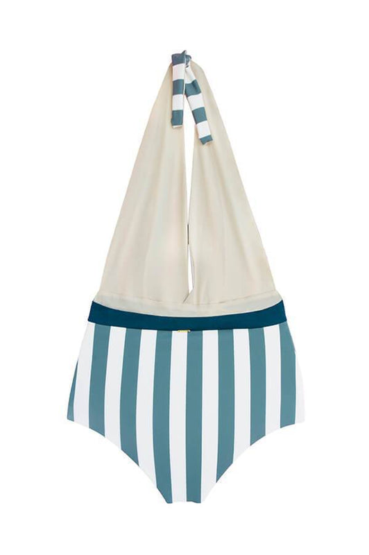 MAYLANA Ella Ocean's Stripes One Piece